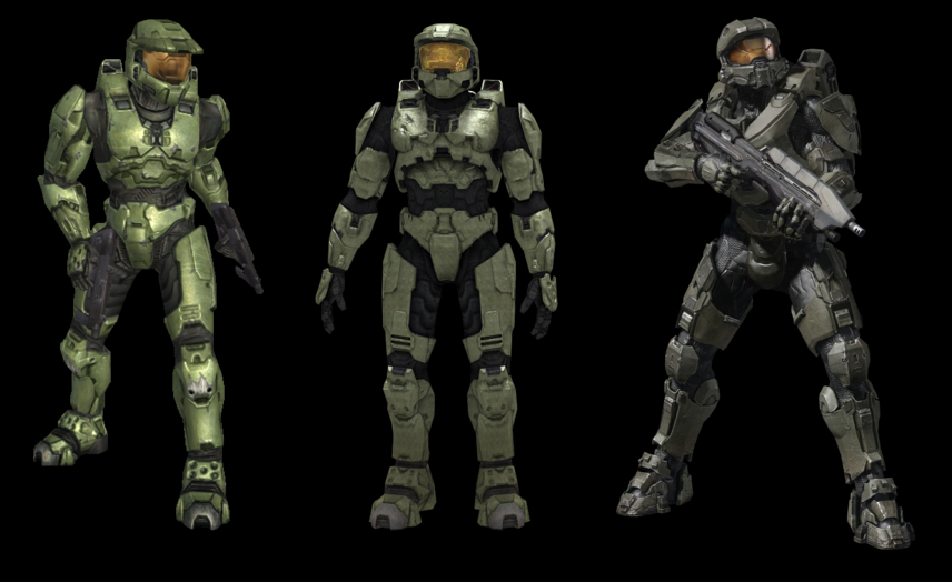 Chief S Armor Is Colored Textured All Wrong Halo The